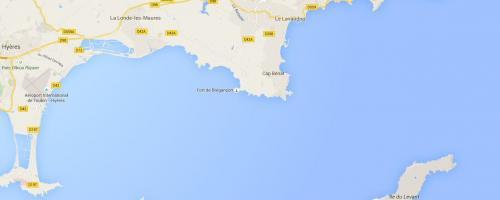 Place de port Bormes Lavandou